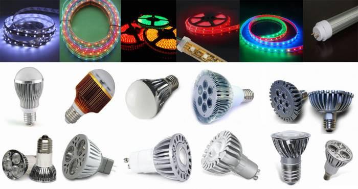 Лампы из светодиодных лент